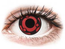Lentillas Maxvue Vision - ColourVUE Crazy Lens - Madara - Sin graduación (2 lentillas)