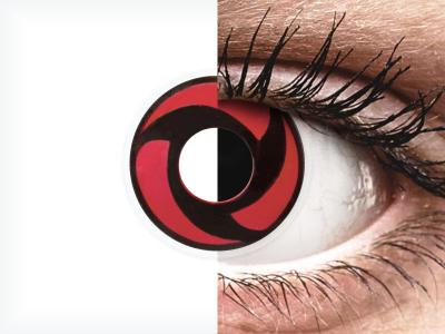 ColourVUE Crazy Lens - Mangekyu - Sin graduación (2 lentillas)