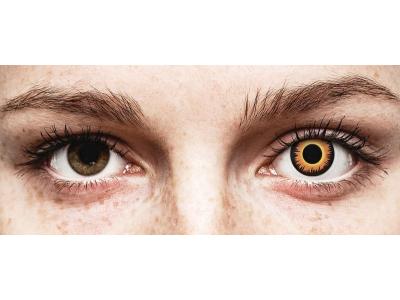ColourVUE Crazy Lens - Orange Werewolf - Sin graduación (2 lentillas)