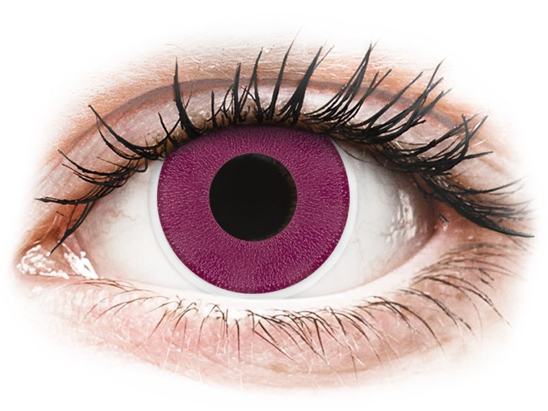 ColourVUE Crazy Lens - Purple - Sin graduación (2 lentillas)
