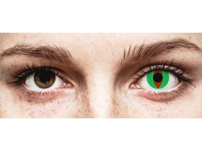 ColourVUE Crazy Lens - Raptor - Sin graduación (2 lentillas)