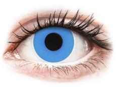 Lentillas de colores sin graduación - ColourVUE Crazy Lens - Sky Blue - Sin graduación (2 lentillas)