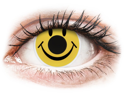 ColourVUE Crazy Lens - Smiley - Sin graduación (2 lentillas)