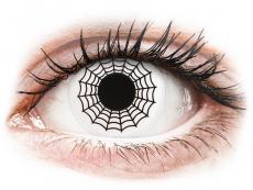 Lentillas de colores sin graduación - ColourVUE Crazy Lens - Spider - Sin graduación (2 lentillas)