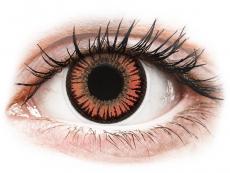 Lentillas de color naranja - sin graduación - ColourVUE Crazy Lens - Vampire - Sin graduación (2 lentillas)