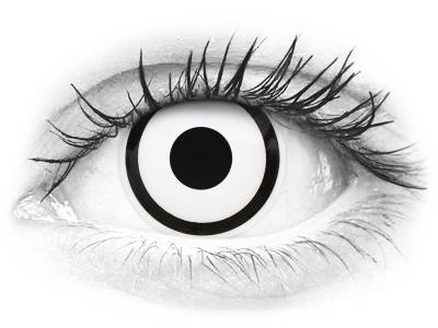 ColourVUE Crazy Lens - White Zombie - Sin graduación (2 lentillas)