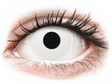 Lentillas de colores - ColourVUE Crazy Lens - WhiteOut - Sin graduación (2lentillas)
