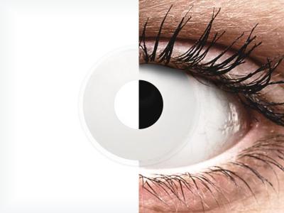 ColourVUE Crazy Lens - WhiteOut - Sin graduación (2 lentillas)