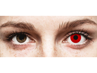 ColourVUE Crazy Lens - Red Devil - Graduadas (2 lentillas)