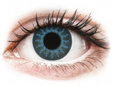 Lentillas de colores - ColourVUE Crazy Lens - Solar Blue - Graduadas (2 lentillas)