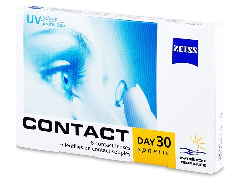 Carl Zeiss Contact Day 30 Spheric (6 Lentillas) - Lentillas mensuales