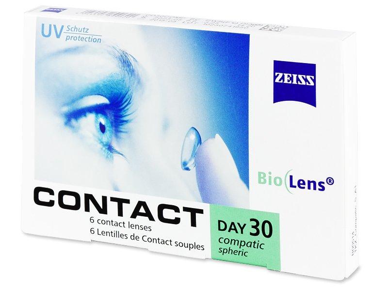 Carl Zeiss Contact Day 30 Compatic (6Lentillas) - Lentillas mensuales