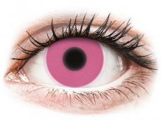 Lentillas de color rosa - sin graduación - ColourVUE Crazy Glow Pink - Sin graduación (2lentillas)