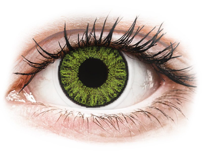TopVue Color daily - Fresh Green - Sin graduación (10 lentillas)
