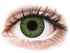 Lentillas de color verde - con graduación - TopVue Color daily - Green - Graduadas (10 lentillas)