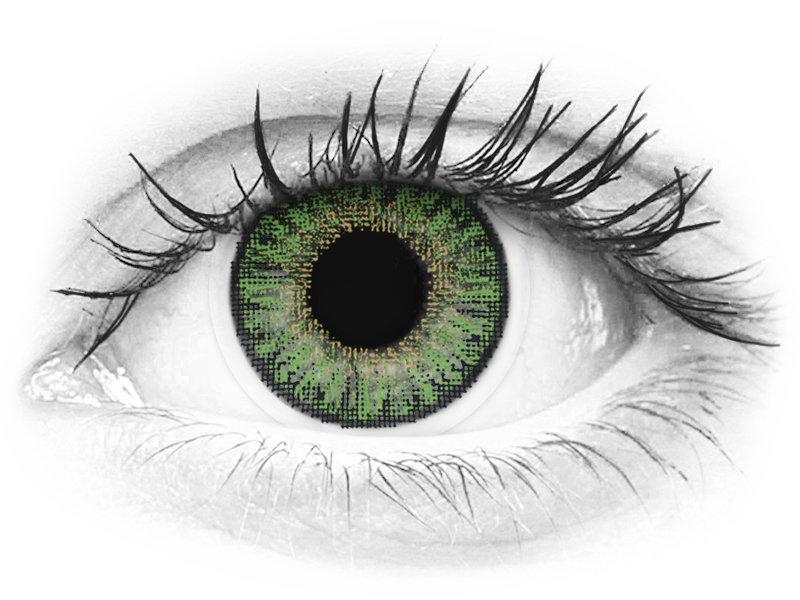 TopVue Color daily - Green - Sin graduación (10lentillas)