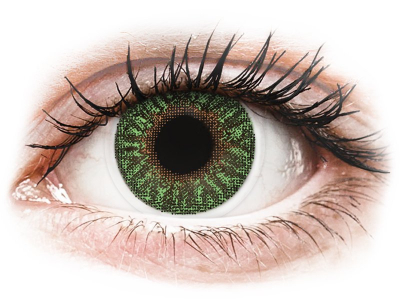 TopVue Color - Green - Graduadas (2 lentillas)