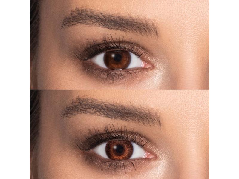 TopVue Color - Brown - Sin graduación (2 Lentillas)