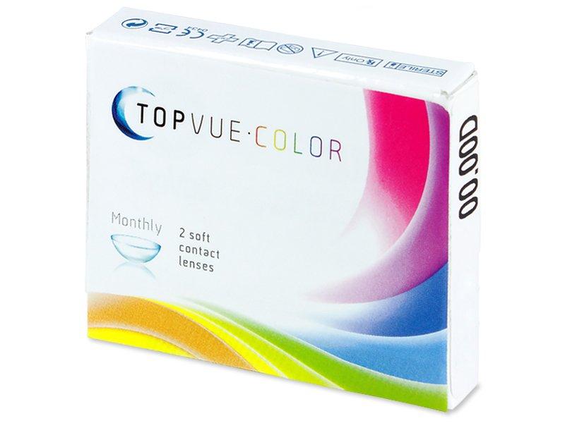 TopVue Color - Grey - Sin graduación (2 Lentillas) - Diseño antiguo