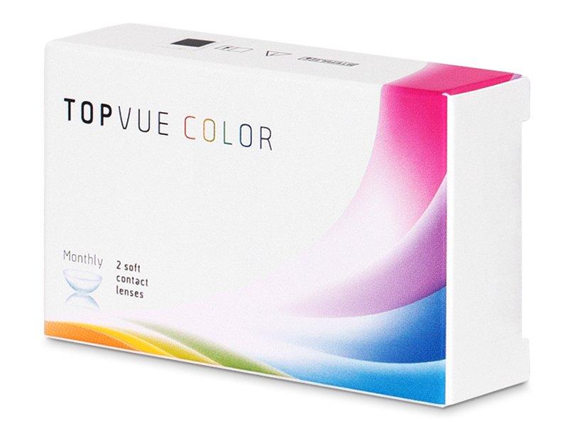 TopVue Color - Grey - Sin graduación (2 Lentillas)