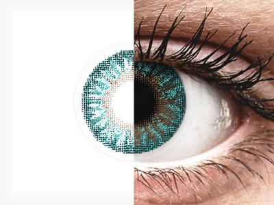 TopVue Color - Turquoise - Sin graduación (2 Lentillas)