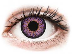 Lentillas de color púrpura - sin graduación - ColourVUE Glamour Violet - Sin graduación (2lentillas)