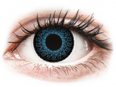 Lentillas Maxvue Vision - ColourVUE Eyelush Blue - Sin graduación (2lentillas)