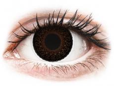 Lentillas de color café - con graduación - ColourVUE Eyelush Choco - Graduadas (2lentillas)