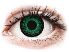 Lentillas de color verde - con graduación - ColourVUE Eyelush Green - Graduadas (2lentillas)