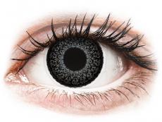Lentillas de color gris - con graduación - ColourVUE Eyelush Grey - Graduadas (2lentillas)