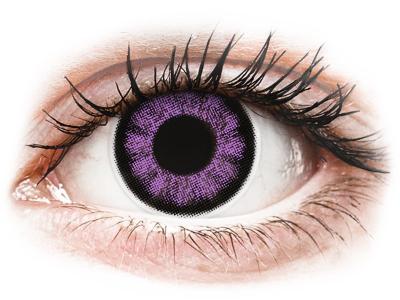 ColourVUE BigEyes Ultra Violet - Sin graduación (2lentillas)