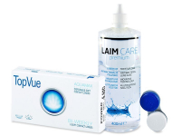 TopVue Bi-weekly (6Lentillas) + Laim Care 400 ml