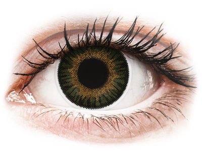 ColourVUE 3 Tones Green - Graduadas (2 lentillas)