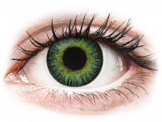 Lentillas de color verde - con graduación - ColourVUE Fusion Green Yellow - Graduadas (2 lentillas)