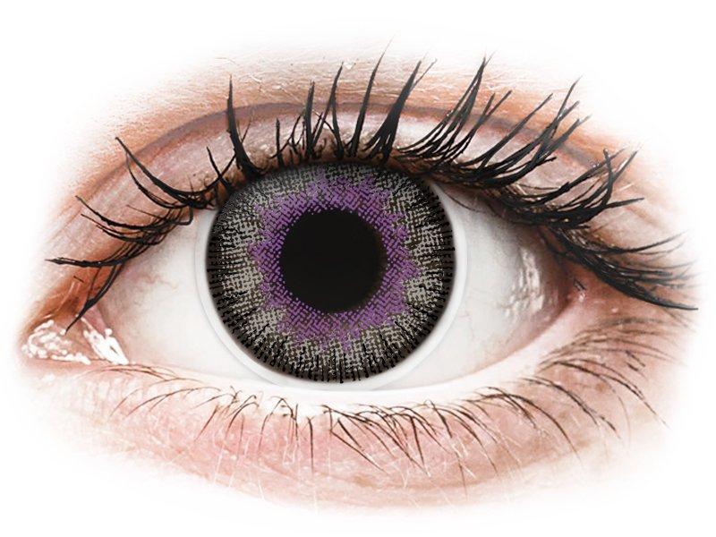 ColourVUE Fusion Violet Gray - Sin graduación (2lentillas)