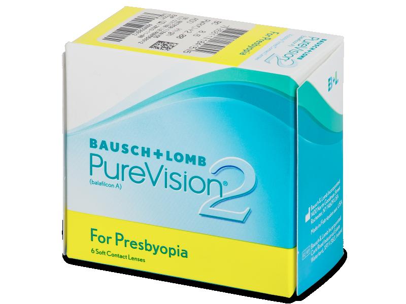 Purevision 2 for Presbyopia (6Lentillas) - Lentillas multifocales