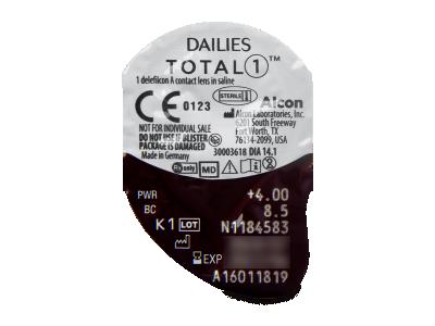 Dailies TOTAL1 (30lentillas) - Previsualización del blister