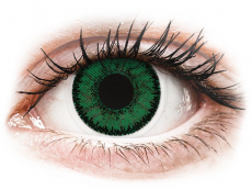Lentillas de color verde - con graduación - SofLens Natural Colors Emerald - Graduadas (2 Lentillas)