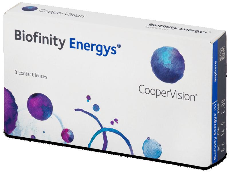 Biofinity Energys (3 lentillas) - Lentillas mensuales