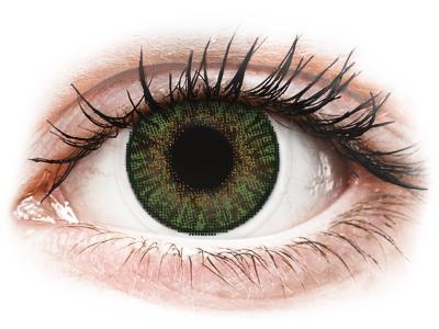 FreshLook ColorBlends Gemstone Green - Sin graduación (2 Lentillas)
