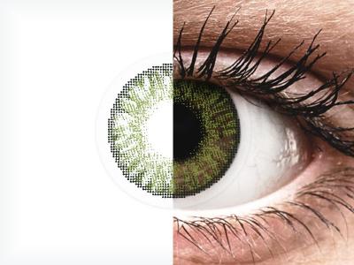 FreshLook ColorBlends Green - Graduadas (2 Lentillas)