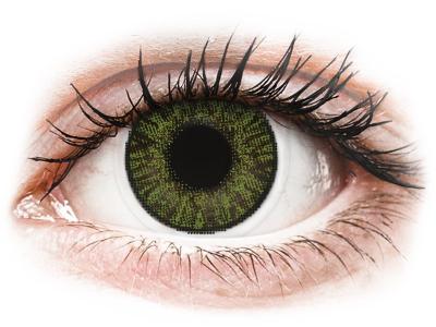 FreshLook ColorBlends Green - Sin graduación (2 Lentillas)