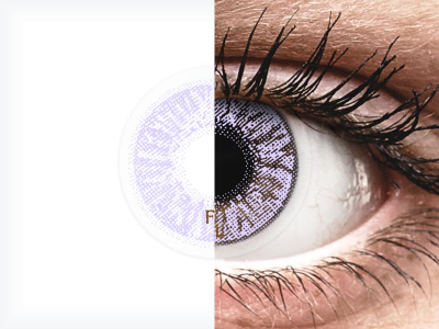 FreshLook Colors Violet - Sin graduación (2 Lentillas)