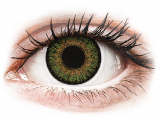 Lentillas de color verde - con graduación - FreshLook One Day Color Green - Graduadas (10 lentillas)