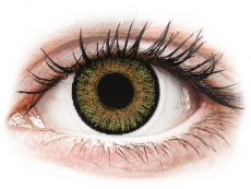 Lentillas de color verde - con graduación - FreshLook One Day Color Pure Hazel - Graduadas (10 lentillas)
