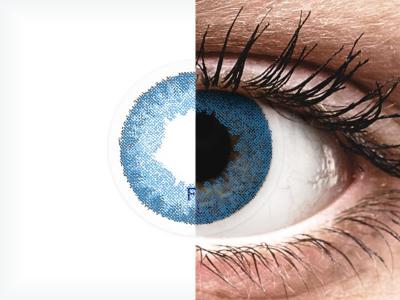 FreshLook Dimensions Pacific Blue - Sin graduación (2 Lentillas)