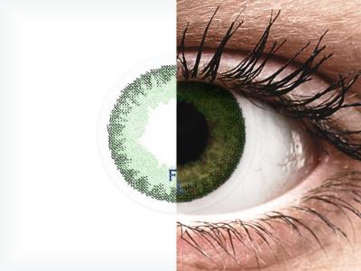 FreshLook Dimensions Sea Green - Sin graduación (2 Lentillas)
