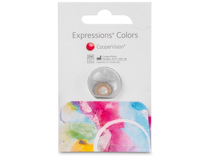 Expressions Colors Brown - Graduadas (1lentilla)