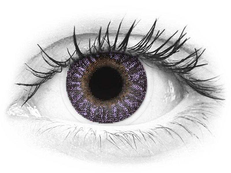 TopVue Color - Violet - Graduadas (2lentillas)