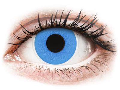ColourVUE Crazy Lens - Sky Blue - Diarias sin graduación (2 Lentillas)
